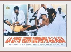 La città verrà distrutta all'alba (G. Romero, 1973)