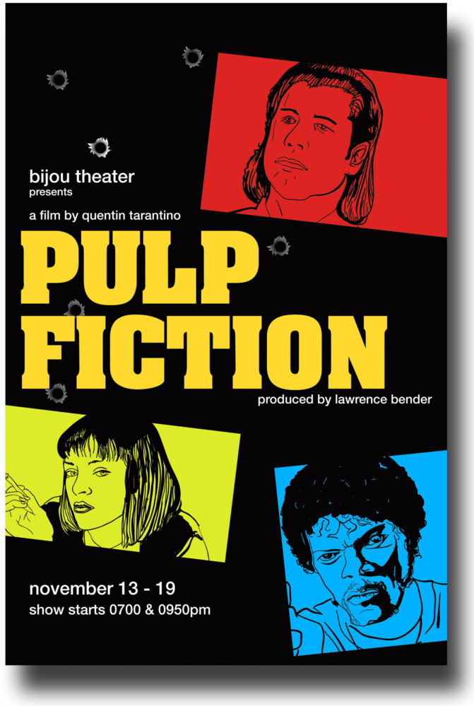 Pulp fiction (Q. Tarantino, 1994)