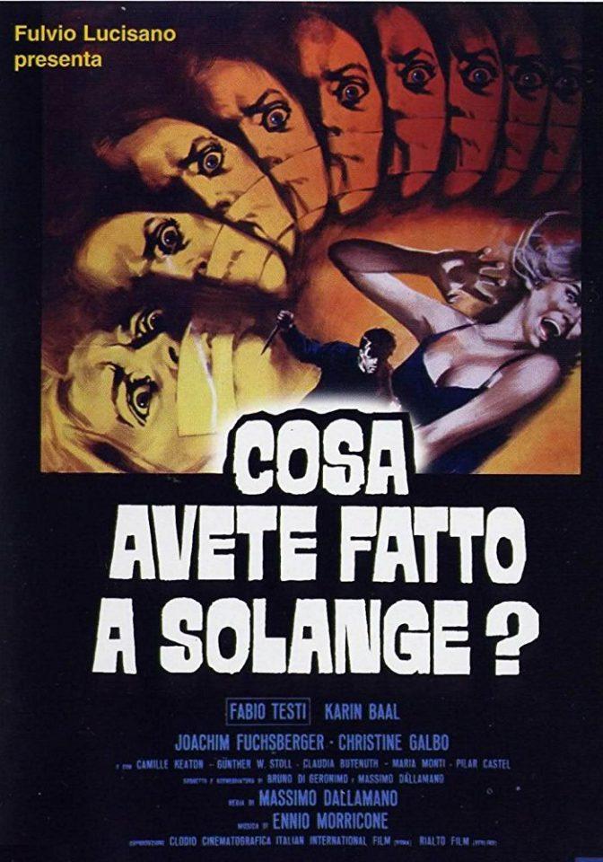 Cosa avete fatto a Solange? (M. Dallamano, 1972)
