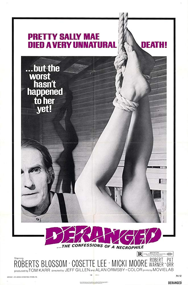 Deranged (1974, J. Gillen, A. Ormsby)