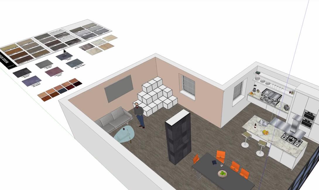 Come progettare gli interni di casa: arredamento di lusso e design italiano