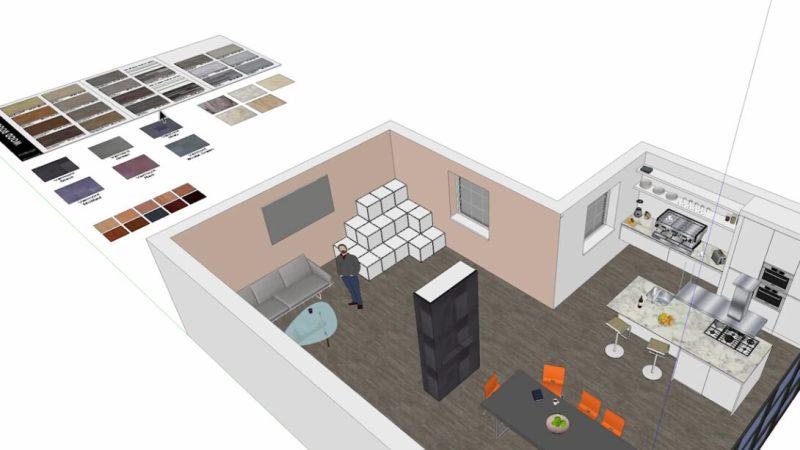 progettare interni casa