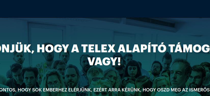 A Telex támogatás margójára. (Afféle rant.)