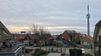 Napfelkelte a Waddenzee felett
