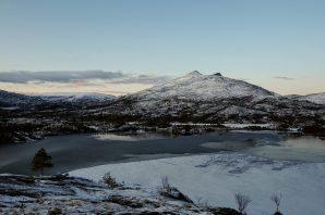Egy fjord és táj