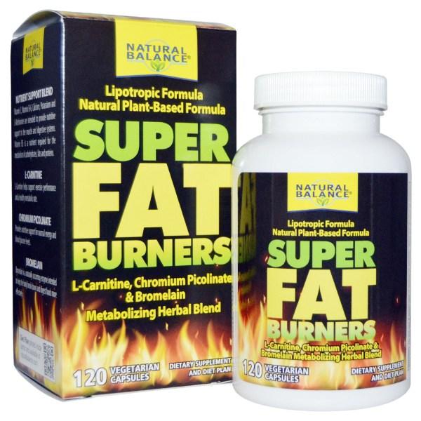 Super Fat Burners (Metabolizing Herbal Blend) : Lipo ...