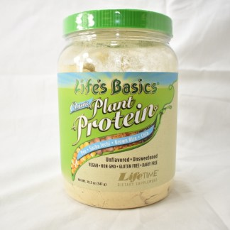 lifes basic plant protein unsweetened