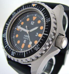 Kampfschwimmer Uhr Replika 2 orange