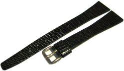 Damen Uhrenarmband Leder grau Bandanstoß 15mm