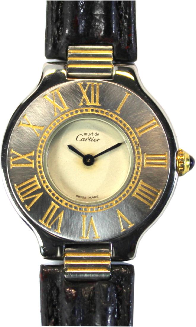 Cartier swiss made damenuhr