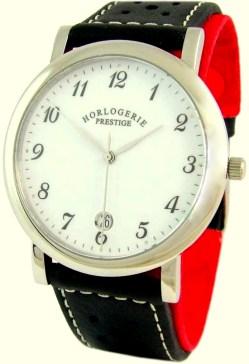 Horlogerie Prestige unisex Quarz Uhr Edelstahl Saphirglas 38mm