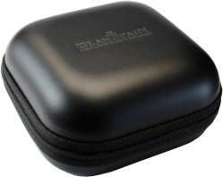 BLANCPAIN Uhrbox Kunststoff Textil schwarz Reise und Service Etui
