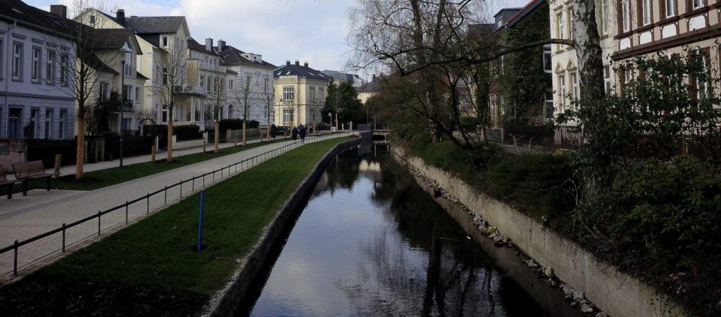 Friedrichstaler Kanal in Detmold