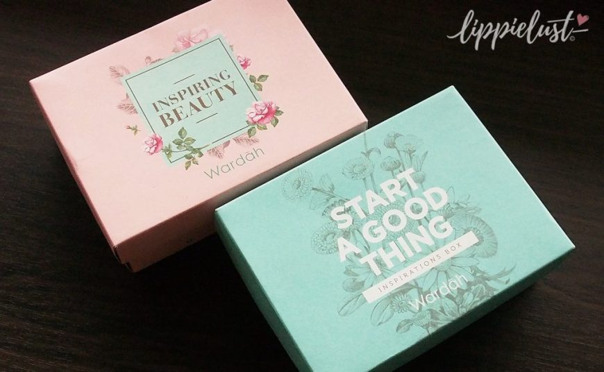 Cute Boxes from Wardah Cosmetics