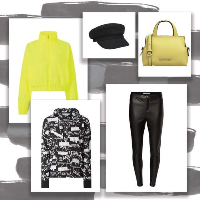 Crno-beli svet začinjen neon detaljima u novoj Calvin Klein kolekciji