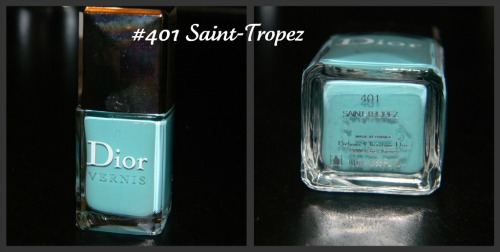 Christian Dior Vernis Limited edition saint-tropez polish
