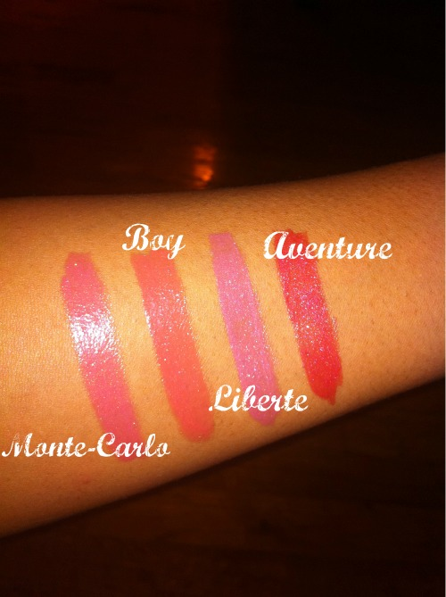 Getting Lippy: Chanel Rouge Coco Shine Swatches