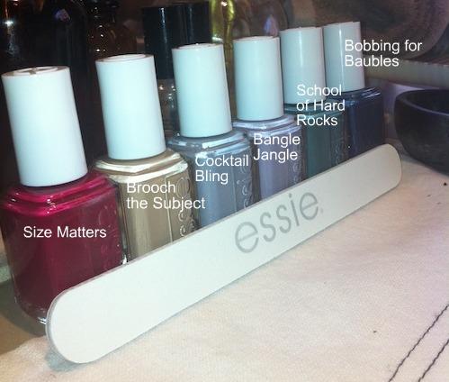 Essie nail polish Winter 2011 collection