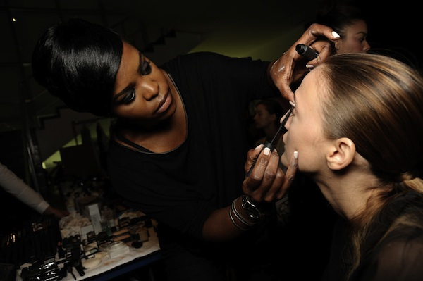 Mercedes-Benz Fashion Week Backstage at Tanya Taylor Spring 2013