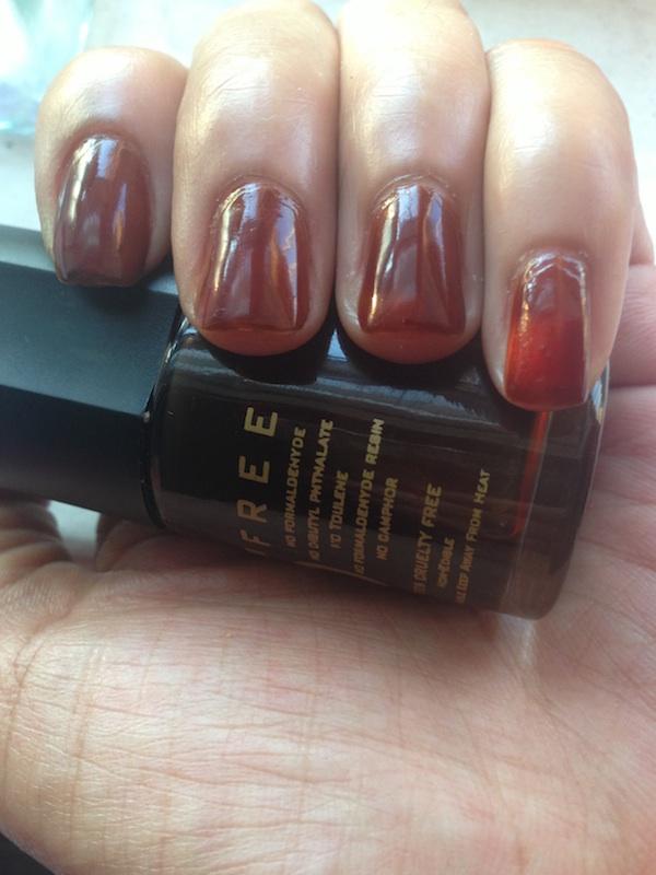 Emma Jean Cosmetics Chocolate Shake Scented Nail Paint