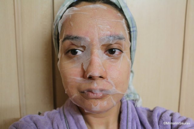Mond'Sub Collagen Silk Mask Series Anti Wrinkle and Moisturizing Facial Sheet Mask Review