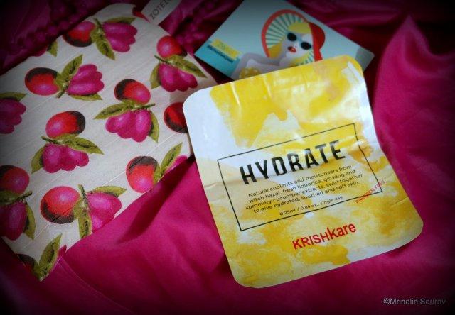 Krishkare Hydrate Sheet Mask ZoBag