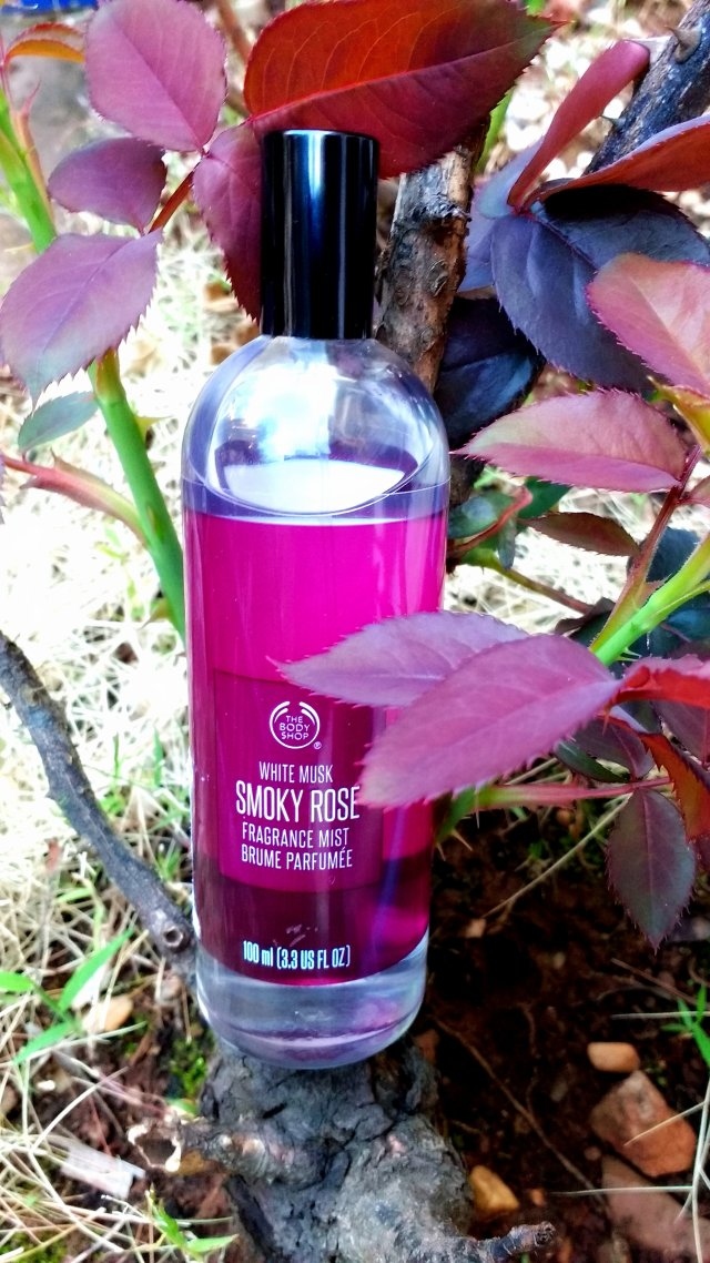 The Body Shop White Musk Smoky Rose Fragrance Mist | Review