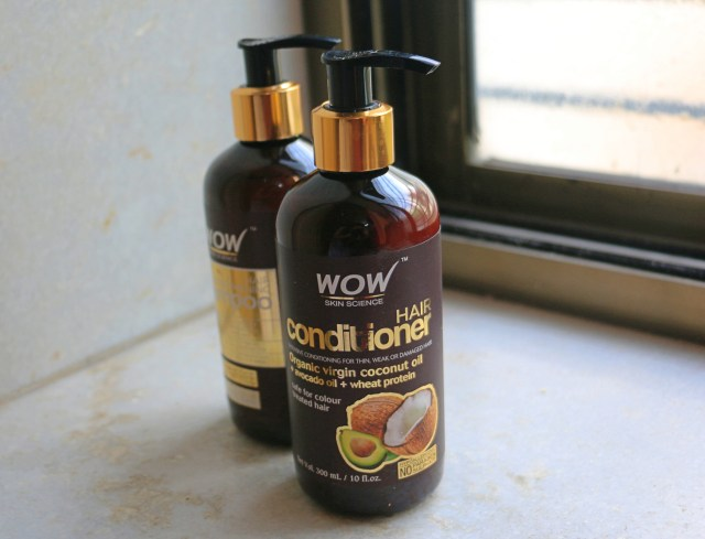 WOW Hair Strengthening Shampoo and WOW Hair Conditioner | Review