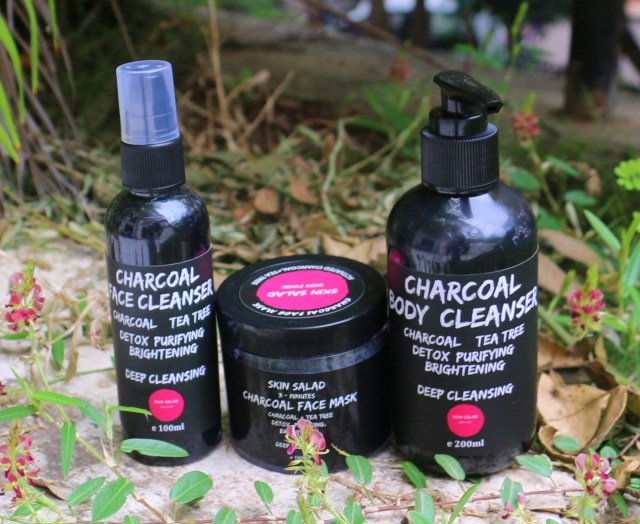 Skin Salad Activated Charcoal Skincare Range | Review