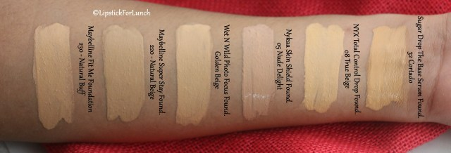 NYX Total Control Drop Foundation | Review and Swatches