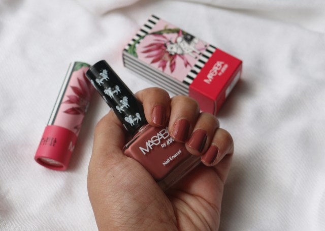 Masaba By Nykaa Lipstick and Nail Enamel | Cool Guy | Review and Swatches
