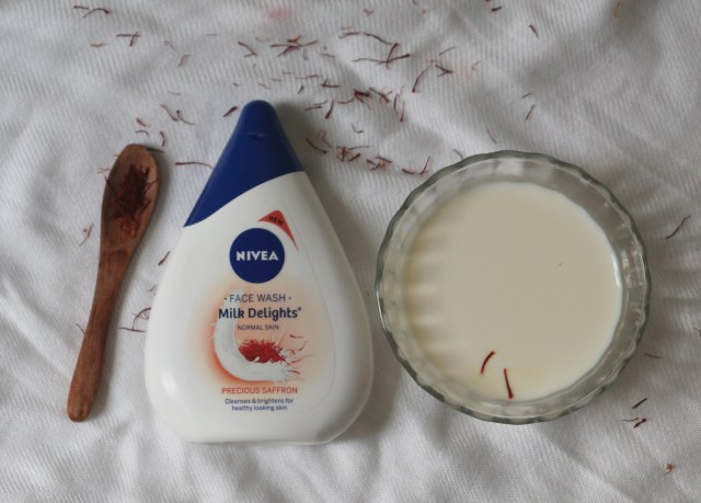 Nivea Milk Delights Precious Saffron Face Wash | Review