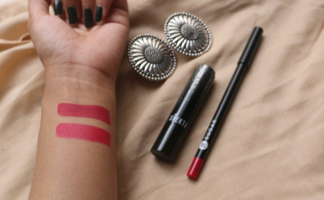 Sugar Cosmetics Lipping On The Edge Lip Liner | Plum Yum | Review