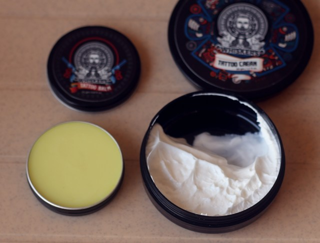 Whiskers Tattoo Cream and Tattoo Balm