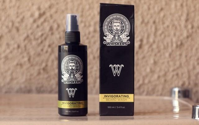 Whiskers Invigorating Beard Wash