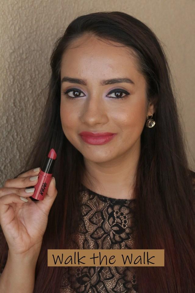 Nykaa So Creme Lipsticks | Swatch Walk The Walk
