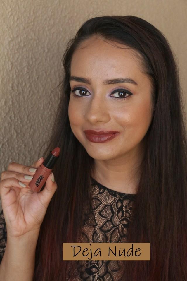 Nykaa So Creme Lipsticks | Swatch Deja Nude