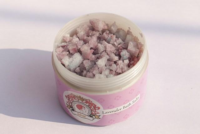 Indrani Cosmetics Lavender Bath Salts