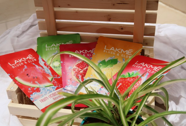 Lakme Fruity-licious Sheet Masks