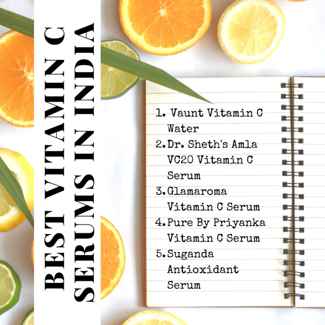 List of Top 5 Vitamin C Serums In India