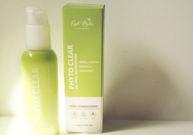 earth rhythm phyto clear moisturizer