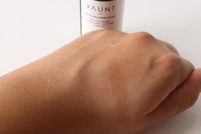 Vaunt VC12 Vitamin C Serum Texture