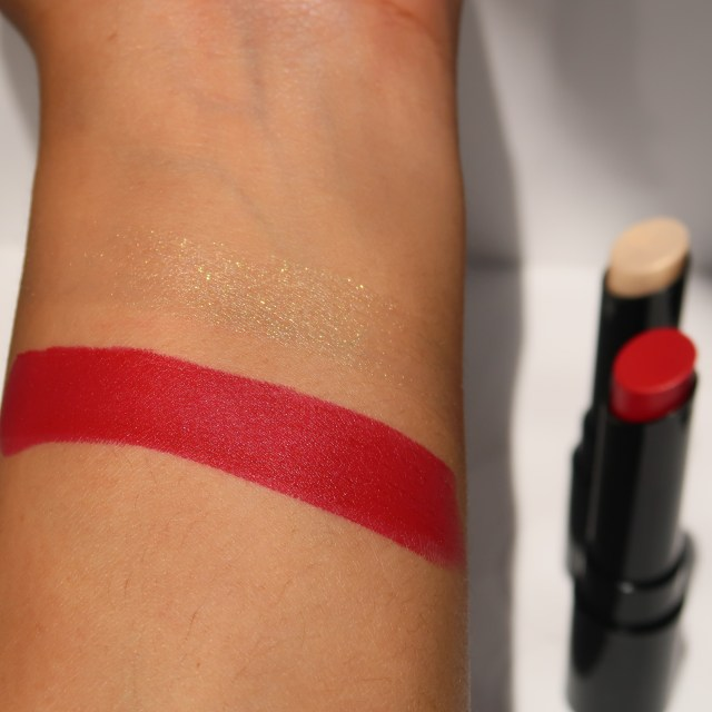Spekta Cosmetics Lipsticks - Arm Swatches - MVP & Saucy