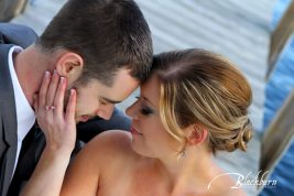 Individual false lashes on our bride!