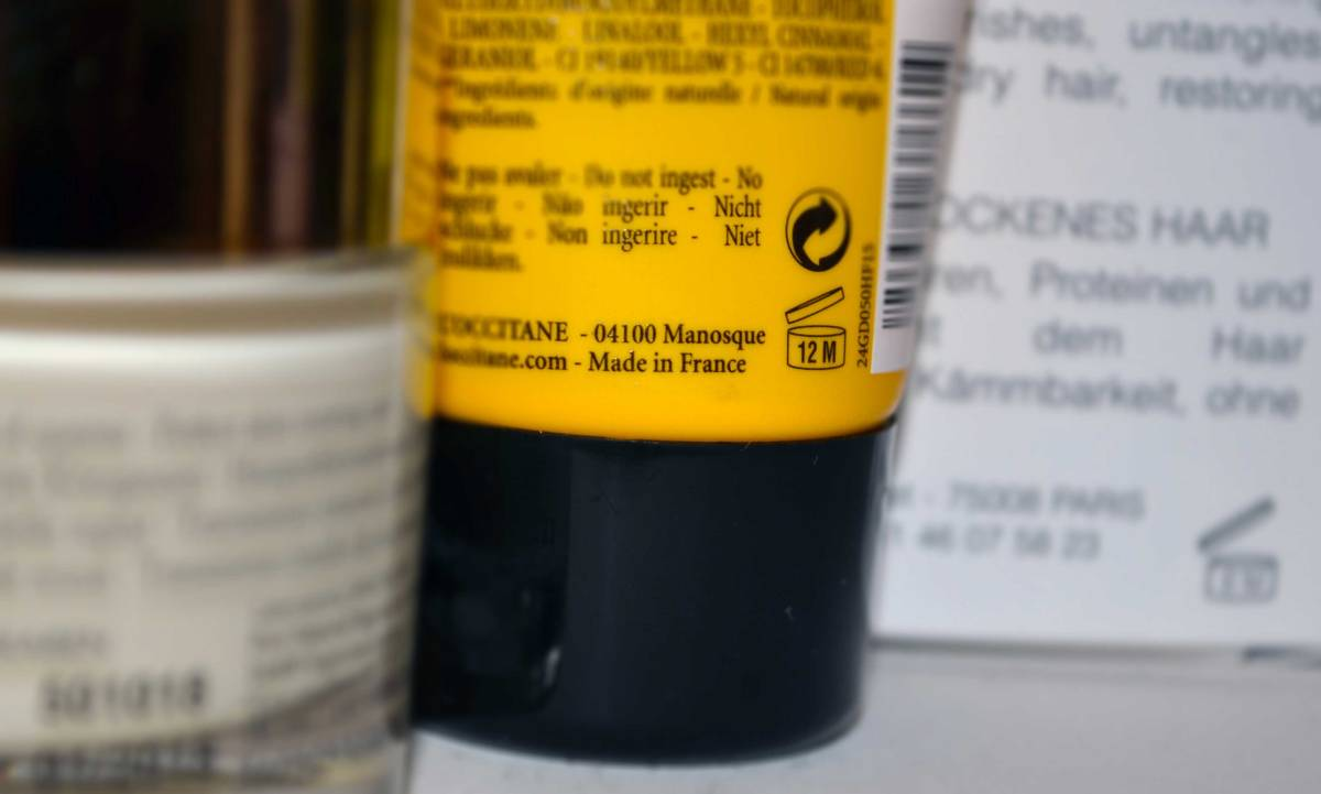 Expiration date of cosmetics, PAO and batch codes