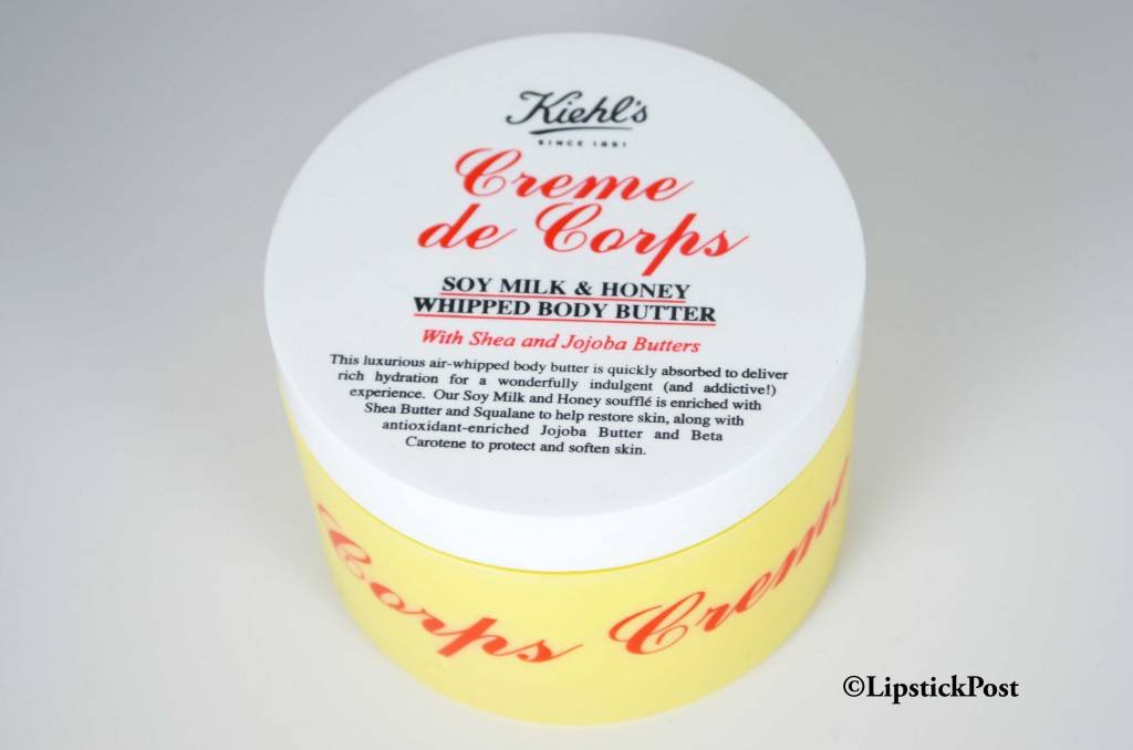 Creme de corps soy milk & honey di Kiehl's