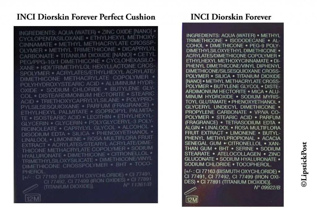 Inci Diorskin Forever Cushion