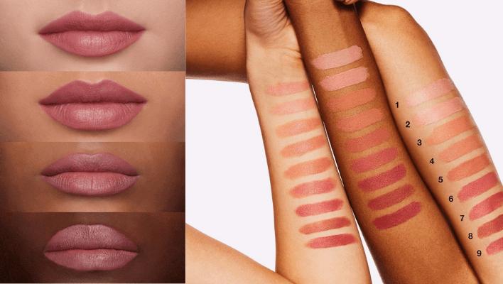 Mac Capricious Lipstick on Dark Skin