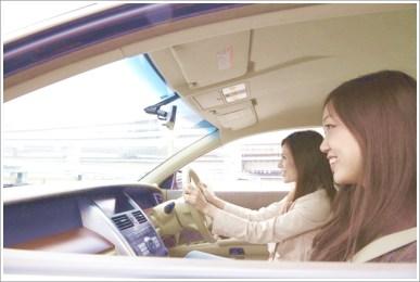 女性、ドライブ
