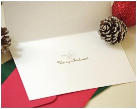 クリスマス、手紙